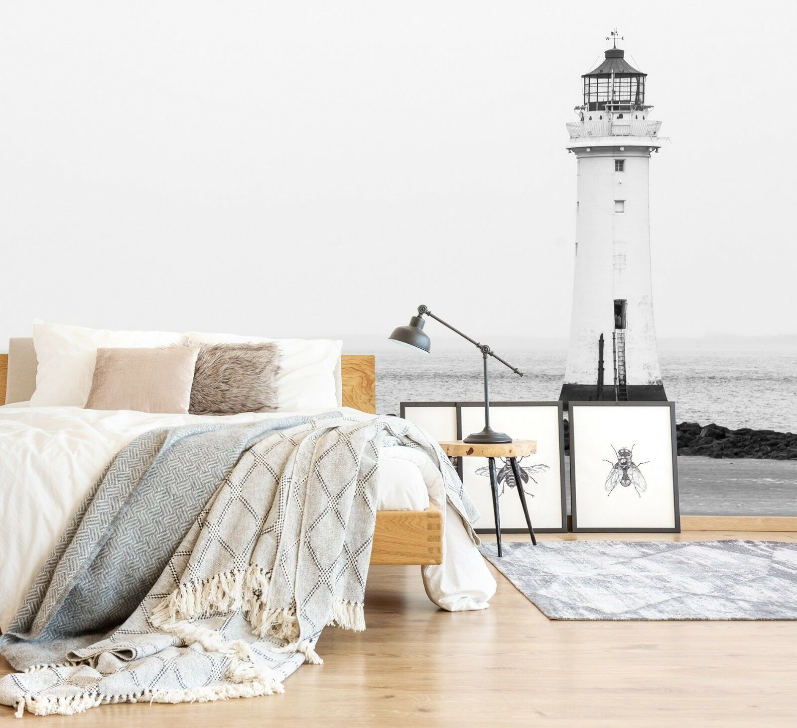 3D Lighthouse 843 Wall Paper Print Wall Decal Deco Indoor Wall Murals US Lemon