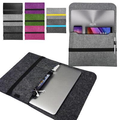 100% Waar Laptop Felt Sleeve Case Cover Bag For Asus Notebooks Vivobook Zenbook Chromebook