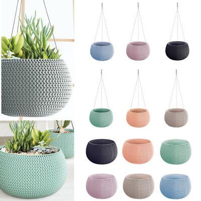 Pastell Schon Design Wandbehang Blumentopf Planter Home Office Woven Knit Effekt Ebay