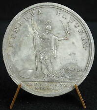 Médaille 1649 Campagne de Flandre Belgique MINERVA FAUTRIX  Louis XIV medal