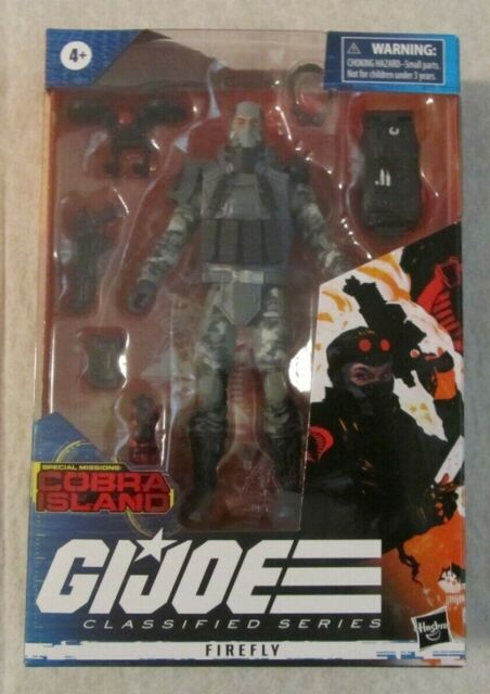 GI Joe Classified Series Cobra Island FIREFLY Action Figure #21 ~ Hasbro ~ NIP