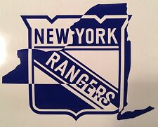 New York Rangers #NYR #NYRangers Fans NHL Hockey Vinyl Decal Car Sticker