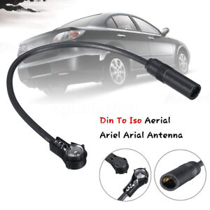 Din-To-Iso-Aerial-Ariel-Antenna-Extension-Adapter-For-Car-Radio-Stereo-PC5-28