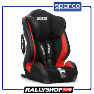 ISOFIX Sparco Child Seat F1000Ki RED ECE Homologation Auto Car Baby ...