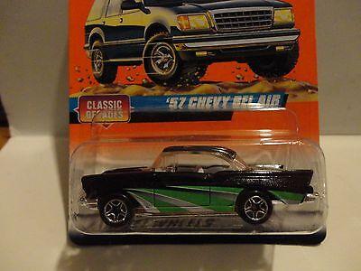 Matchbox #31 Black & Green '57 Chevy Bel Air