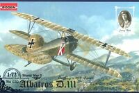 ALBATROS D III OEFFAG SERIE 153 (12x AUSTRO-HUNGARIAN ACES MKGS)#30  1/72 RODEN