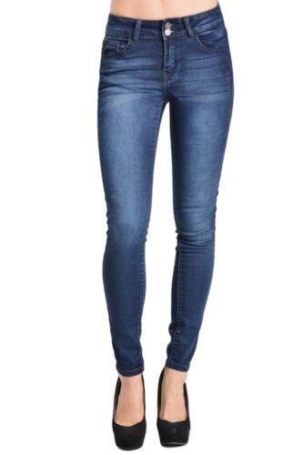 Dark Women's Kancan Mid Wash Ankel 653801552096 Længde Skinny 11 Rise Jeans OCZqw