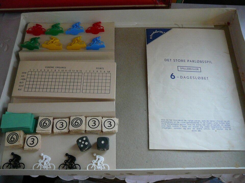 Andre samleobjekter, 6 Dagesløbet , brætspil