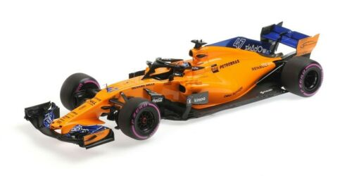 MINICHAMPS 537183904 1:18 MCLAREN Renault MCL33 Norris Abu Dhabi Test 2018