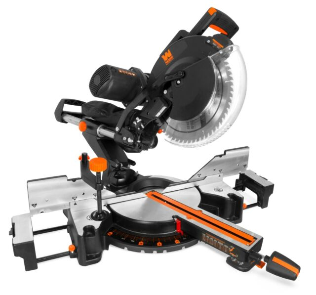 Tacklife 15-Amp 12-inch Single Bevel Compound Miter Saw with Laser Guide,  Cord - for sale online | eBay