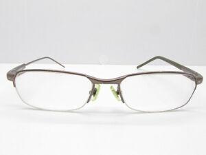 NIKE Titanium Half Rimless Eyeglasses Eyewear FRAMES ...