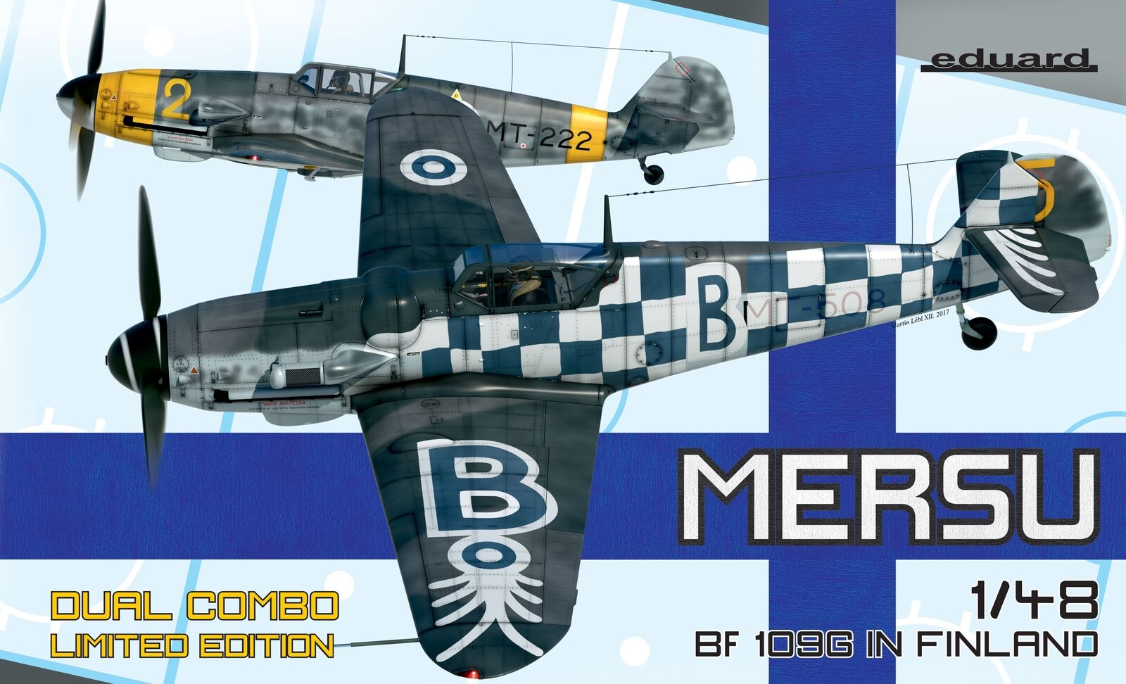 Eduard 1 48 Mersu Bf-109G in Finland Dual Combo Limited Edition K11114