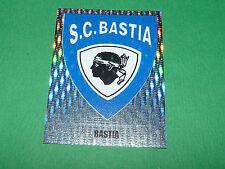 N°20 BADGE SC BASTIA SCB FURIANI PANINI FOOT 98 FOOTBALL 1997-1998
