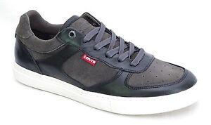 LEVI-039-S-PERRIS-OXFORD-DULL-GREY-baskets-homme-gris-225797-LEVIS-coloris-58