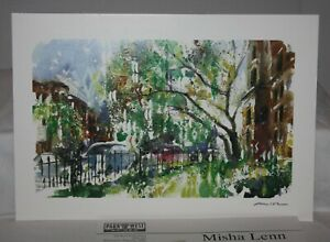 Misha-Lenn-Commonwealth-in-Bloom-2002-Park-West-Signed-Seriolithograph-amp-COA