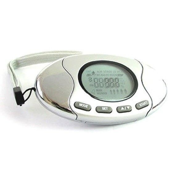 4in1 Pedometer+Body Fat Analyzer+Calorie & Step Counter