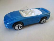 1994 Matchbox Blue Mitsubishi 3000 GT Spyder Convertible Car - Thailand (Mint)