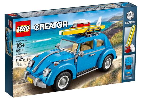LEGO 10252 SCHÖPFER SAMMLER VOLKSWAGEN BEETLE MAIKÄFER NEU