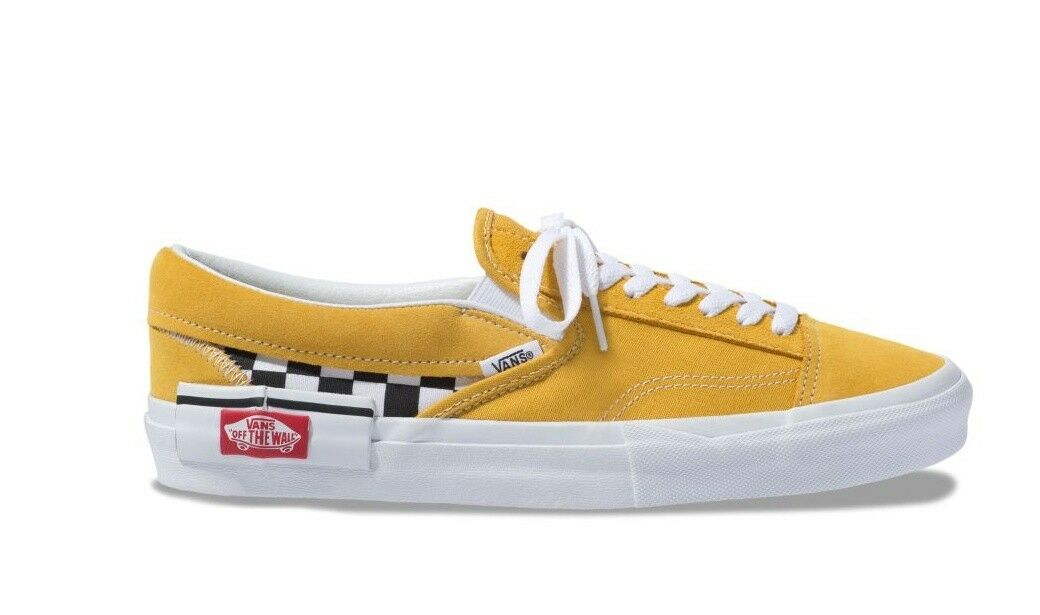 VANS SLIP ON CUT AND amarillo amarillo amarillo NEW STYLE hombres VN0A3WM5VLY1 38d768
