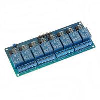 5V 8 Kanal Relais Modul Relay Module mit Optokoppler für PIC AVR DSP ARM 3271