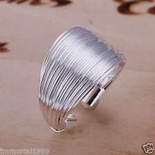 Bagues anneaux  plaqué argent 925 Taille; ajustable