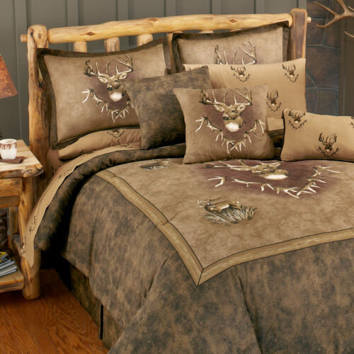 Whitetail Ridge Bedding Comforter Set with Options and FREE Shipping!