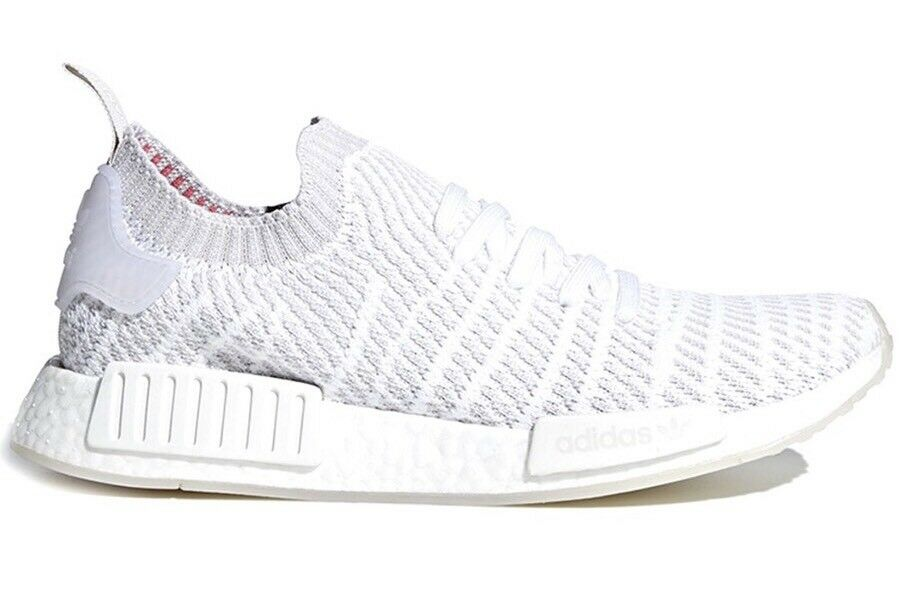 wholesale dealer af91c 2b6dc ADIDAS ORIGINALS NMD R1 SZ 8.5 STLT STLT STLT CLOUD WHITE GREY SOLAR PINK  CQ2390 f85d87 ...