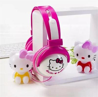 3.5mm New style Japan Anime Cartoon Lovely Hellokitty Headphones Cartoon Headset