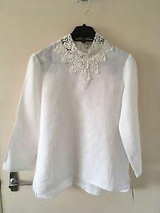 Zara White Blouse Ebay 118