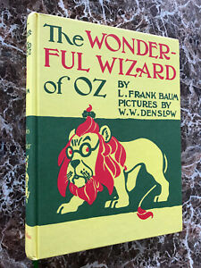 The-Wonderful-Wizard-of-Oz-and-MAP-Facsimile-of-1900-First-Edition-L-Frank-Baum