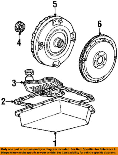 FORD OEM 92-96 F-150 Automatic Transmission-Drive Plate D5TZ6375A