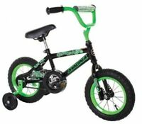 Gravel Blaster Boy's Bike,12in Outdoor Play Kids Bmx Coaster Brake Green/black on sale