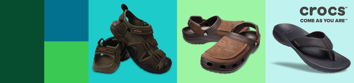 Crocs mid season sale.