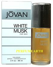 White Musk By Jovan 3.0oz./88 ml Edc Spray For Men New In Box
