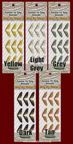 Medium Hemingway Mayfly Wings Gray