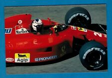 F1 Racing Postcard ~ Ferrari 642 - 1991 Season: Alain Prost - Niccolini of Italy