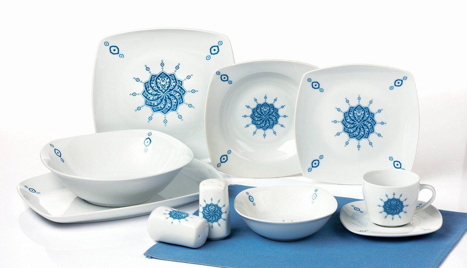 Porcelaine Service de Vaisselle Combi 40 Pièces Hünkar Tk-983