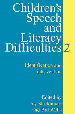 1 of 1 - Children's Speech and Literacy Difficulties: Bk. 2: Identification and...