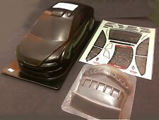 RC 1 10 EP Car 190mm Carbon printed Bodyshell body shell FORD FOCUS fit Tamiya