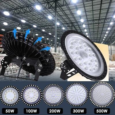 500W 300W 200W 100W UFO LED High Bay Light Warehouse Led Shop Light Fixture