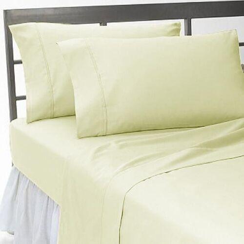 "1000TC Egyptian Cotton Upto 30/""Extra Deep Pocket 4Pc Sheet Set All Colors/&Size"