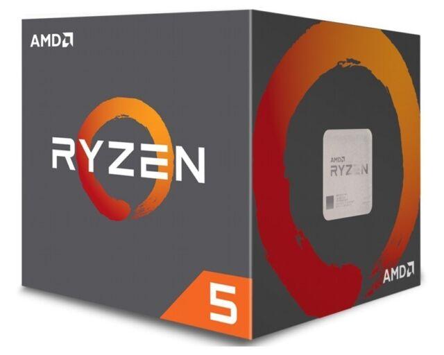 AMD ryzen 5 2600x CPU box procesador, 6-Core, 3,6ghz, Socket am4, yd 260 xbcafbox