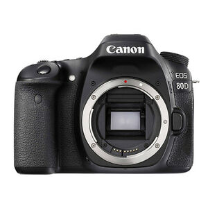 Canon EOS 80D 24.2MP Digital SLR Camera Body 13803271829