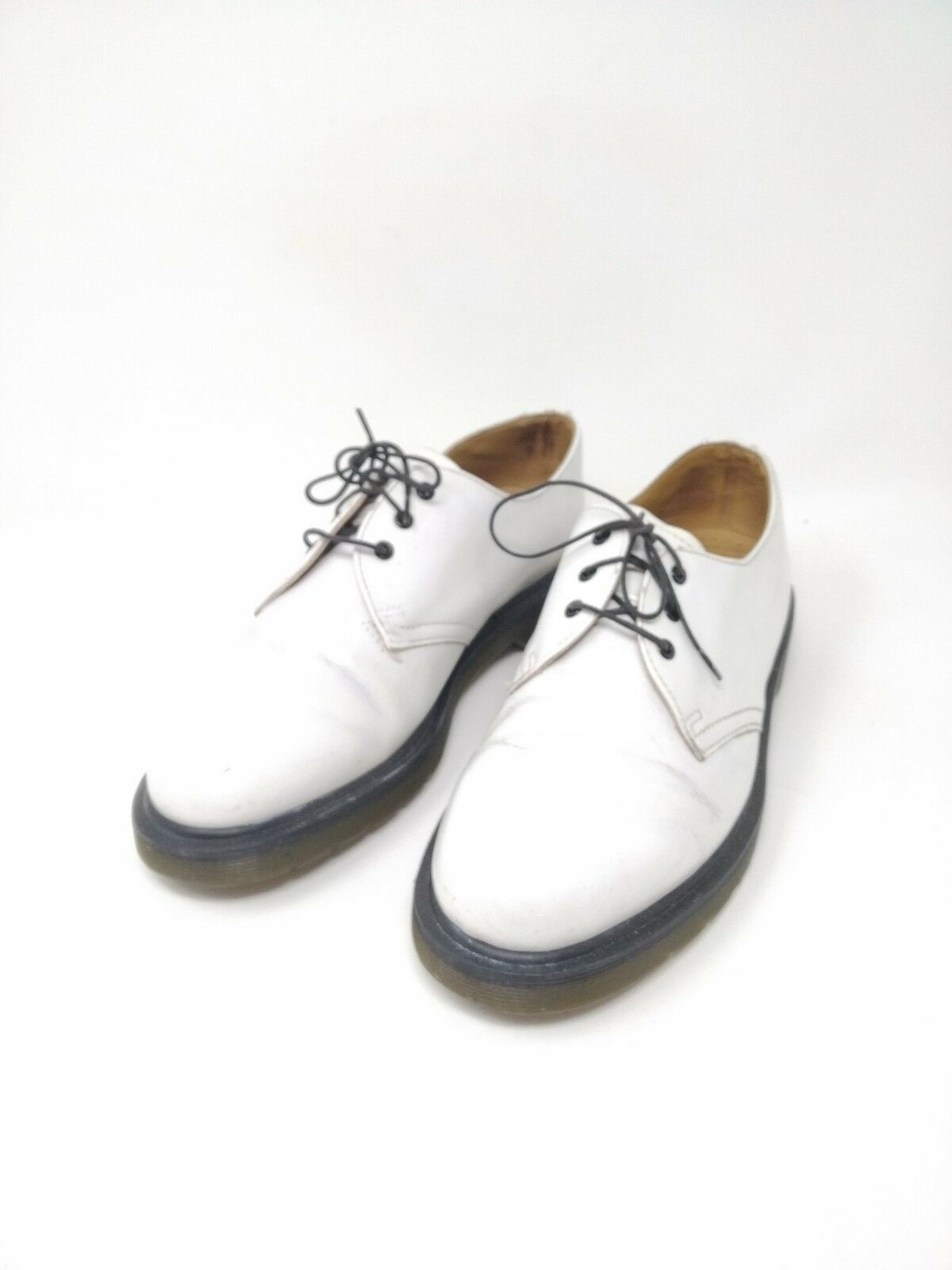 shoes  shoes boots stivali Dr Martens    39 6  7 derby bianche White a0f29a