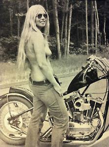 Vintage-Motorcycle-Girl-Photo-99-Oddleys-Strange-amp-Bizarre-5-x-7