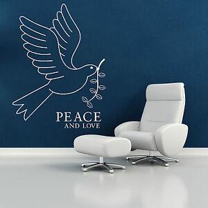 Blanco-paloma-pajaro-de-paz-and-love-Vinilo-Adhesivo-mural