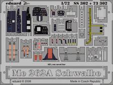 Eduard Zoom SS302 1/72 Messerschmitt Me 262A Schwalbe Academy