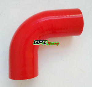 2-034-51mm-Silicone-90-degree-Elbow-Hose-Turbo-Intercooler-Tube-Intake-pipe-RED