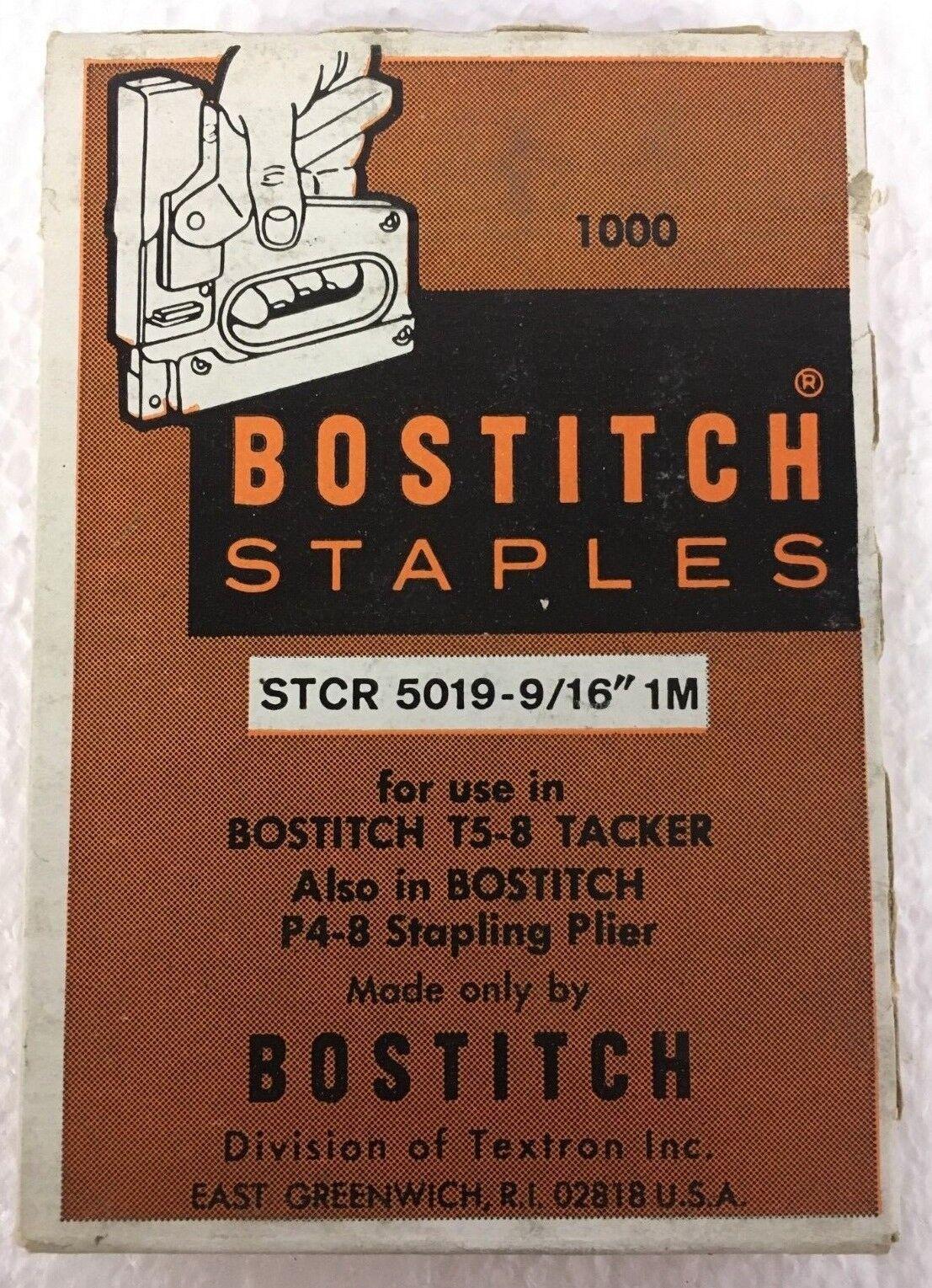 BOSTITCH STCR50191//2-1M 1//2-Inch by 7//16-Inch Heavy-Duty PowerCrown Staple 1,000 per Box 2