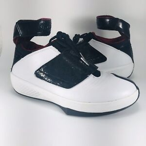 big sale b56b1 a10e0 Image is loading Air-Jordan-20-XX-Quickstrike-Retro-Stealth-White-